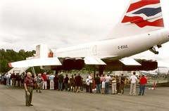Concorde G-BOAG...Bill III points to the  subject of the photo
