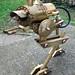 steampunk walker lamp by gozdom