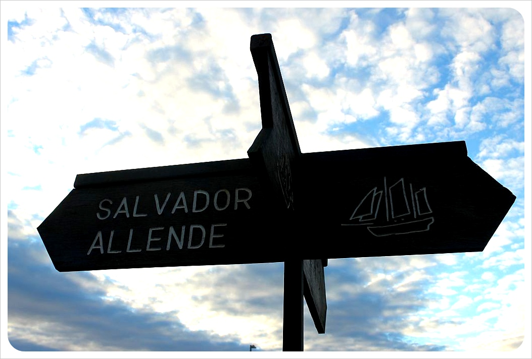ancud street sign