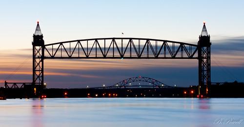 bridge sunrise canal massachusetts sunrises capecodcanal
