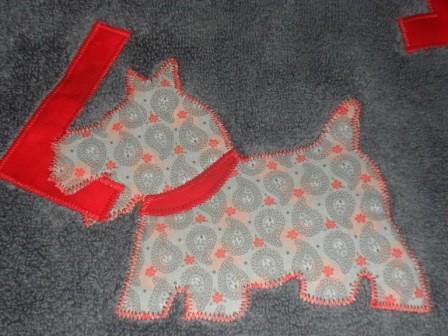 Perro toalla Julia