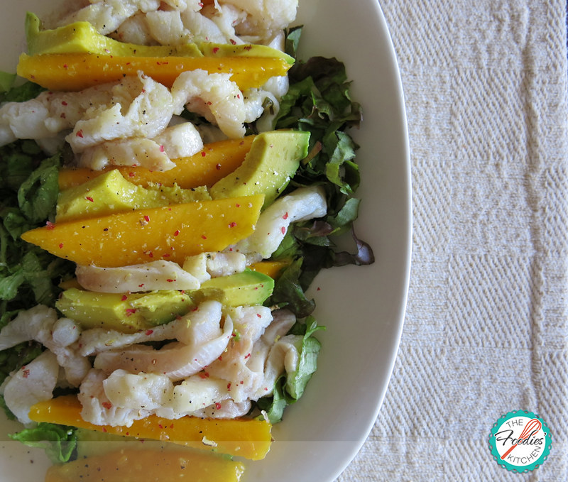 Ceviche Salad with Spicy Citrus Vinaigrette