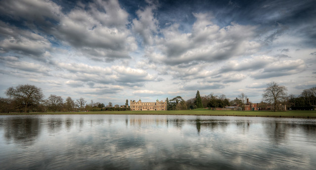 Audley End House Panorama