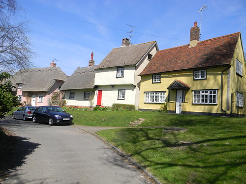 Old houses , Wendens Ambo