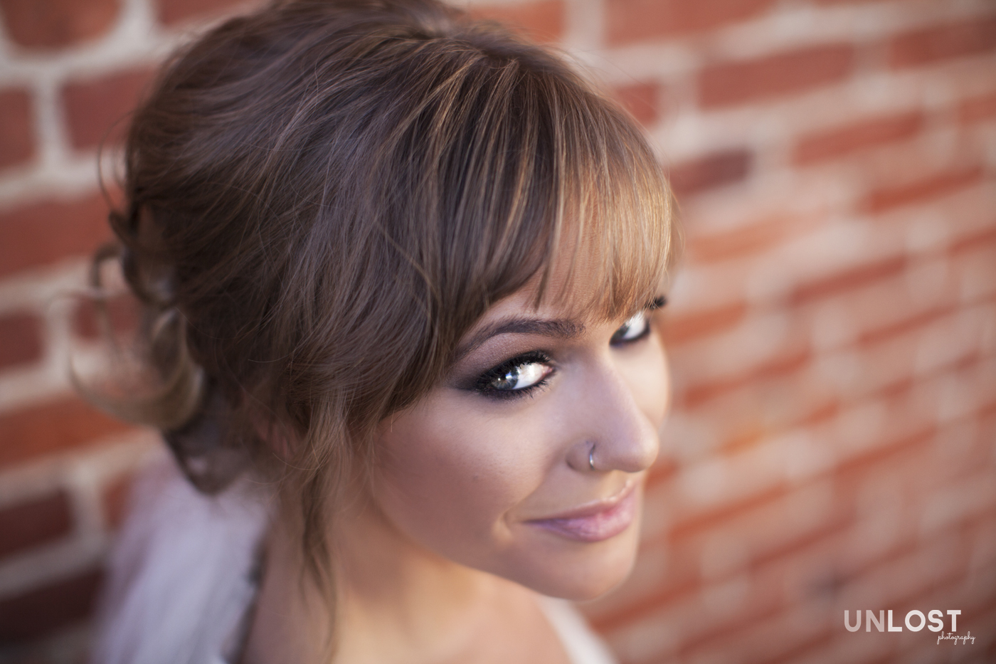 Bridal Headshot in Beverly Hills, California
