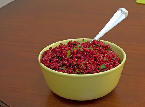 Beet & Bulgur Salad