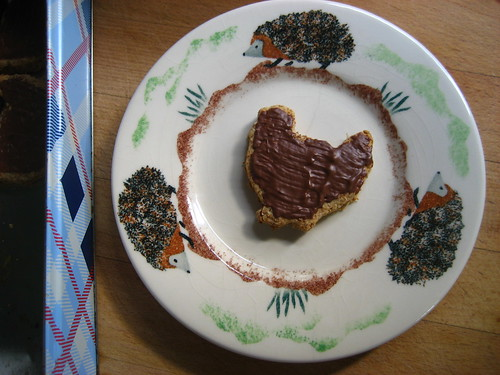 Chocolate digestive chicken