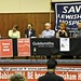 The panel for the Save Lewisham Hospital public meeting