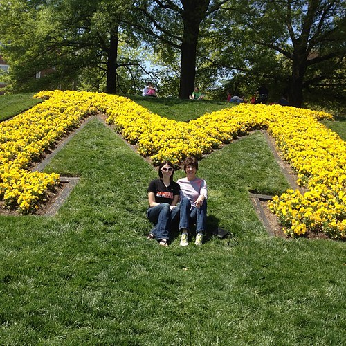 Maryland Day with my mom! #terps