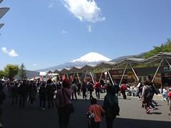 富士山がキレイに見えます