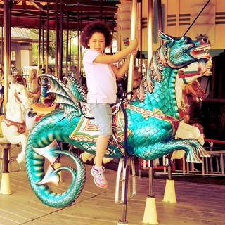smithsonian carousel.