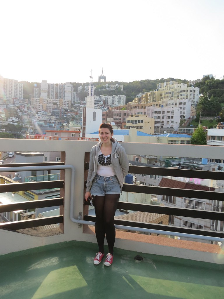 My Rooftop view in Busan