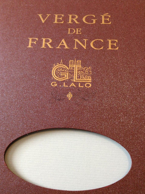 G. Lalo Verge de France - Writing Tablet