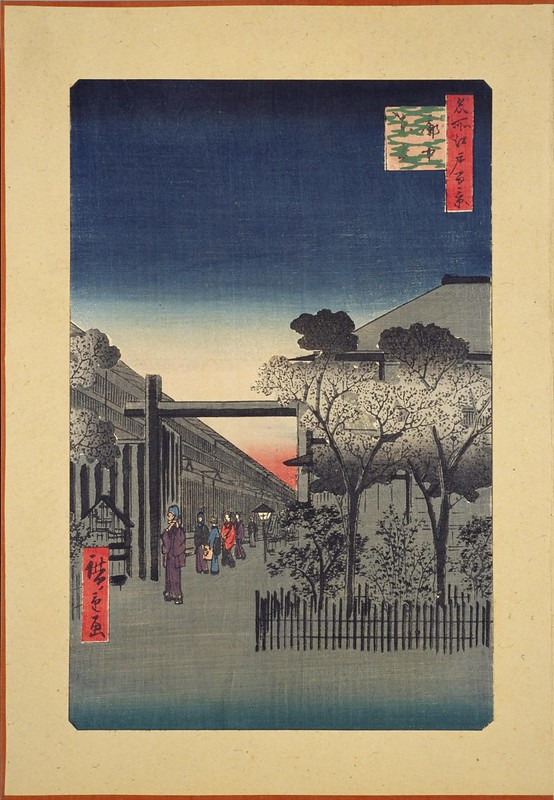 Dawn in Yoshiwara