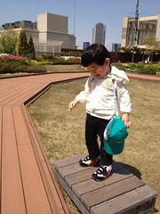 アトレ屋上にて 2013/4/26