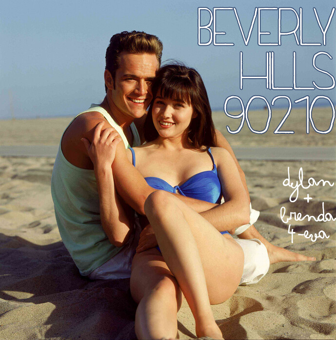 Beverly Hills 90210 Brenda and Dylan