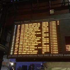 Parce qu'on ne parle pas assez des trains qui sont à l'heure !!