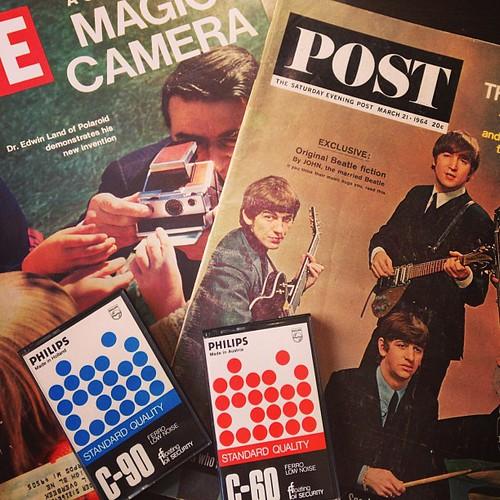 Polaroid. 1st gen cassettes. The Beatles. The connection? Culture revolution.