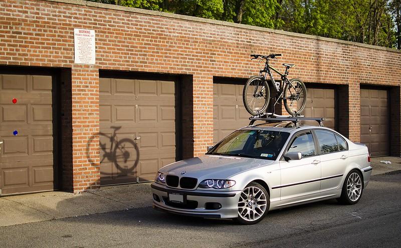 Which Bike Rack On OEM Roof Rack EFanatics - Bmw 335i bike rack