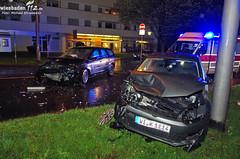 Verkehrsunfall Biebricher Allee 26.04.13