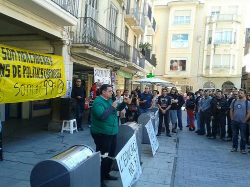 concentració assemblea popular de Reus  #1maig2013 #1maigCGT