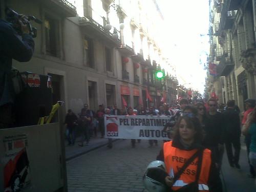 1 MAIG MANIFESTACIÓ CGT BARCELONA