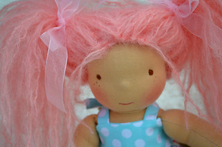 "Sophie 10"" sitting doll"