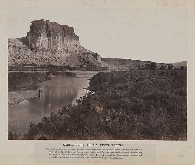 Castle Rock, Green River Valley.