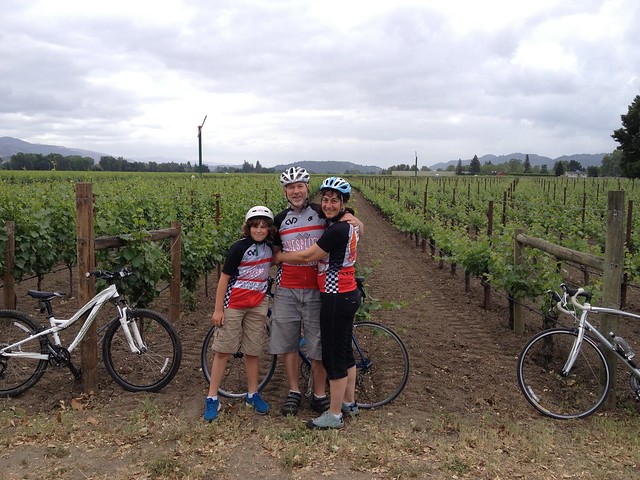 Rest stop in the vineyards