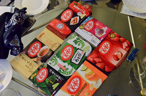 Japanese Kit Kat Taste Test - All the non-traditional flavors