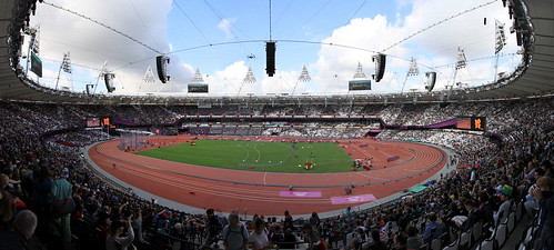 My day in the Olympic Stadium
