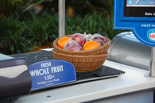 Fruit at Disney World