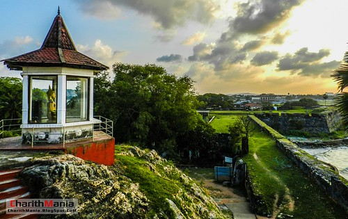 Fort Frederick Trimcomalee by CharithMania