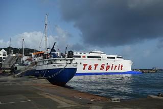 Barco T&T Spirit em Scarborough