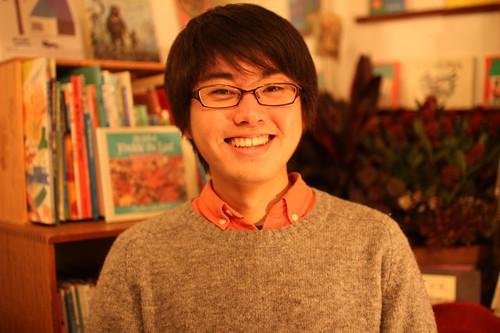加藤優介さん(東京大学2年)