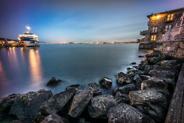 San Francisco citiyscape from Sausalito, United States