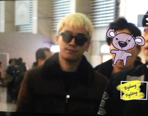 Big Bang - Incheon Airport - 27nov2015 - BigbangFighting - 02
