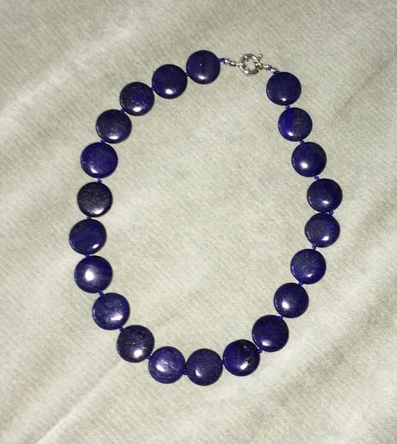 Lapis lazuli necklace - Hazelanne Lewis