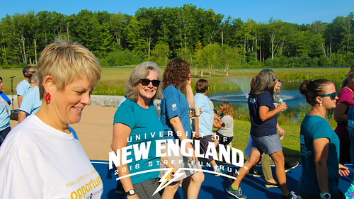 UNE Staff Fun Run - August 24, 2016