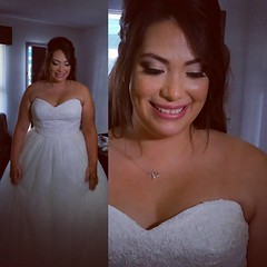 Makeup by Alexandria Casanova and hair by Lili Signore #onlocationservices #Makeup  #weddingmakeup www.lilisweddings.com