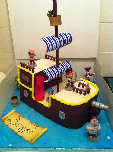 Pirates' Cake by Kay's Cakes