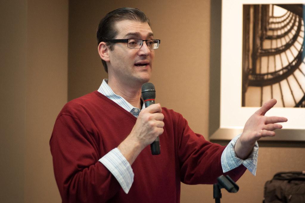 2016 WordCamp Chicago - Adam Silver, Speaker (Photo by Kari Leigh Marucchi)