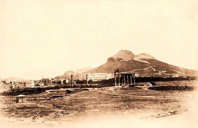 View of the Royal Palace and Temple of Jupiter, 1855
