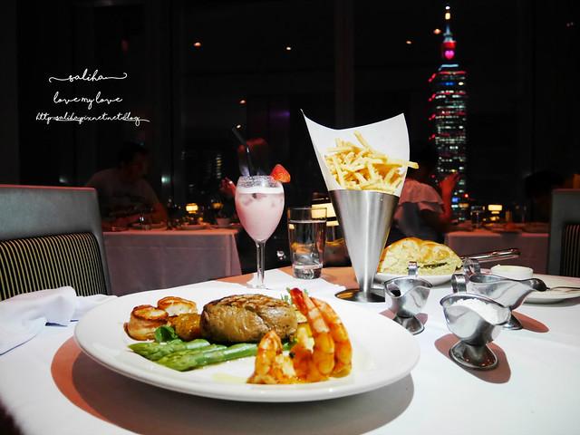 台北101夜景景觀餐廳推薦莫爾頓牛排館 Morton's The Steakhouse (23)