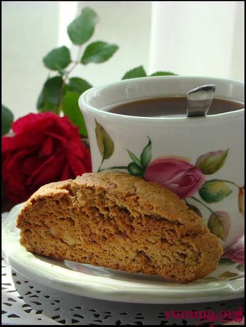 kahveli biscotti