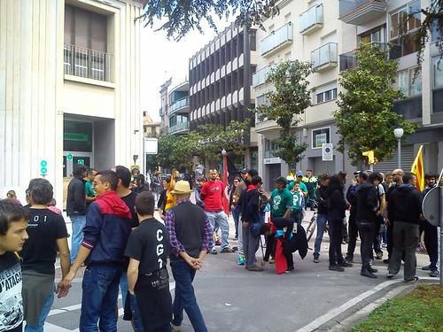 Manifestació #igualada 1 maig 2013 #1maig2013 #1maigCGT