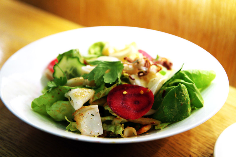 Seared Calamari Salad