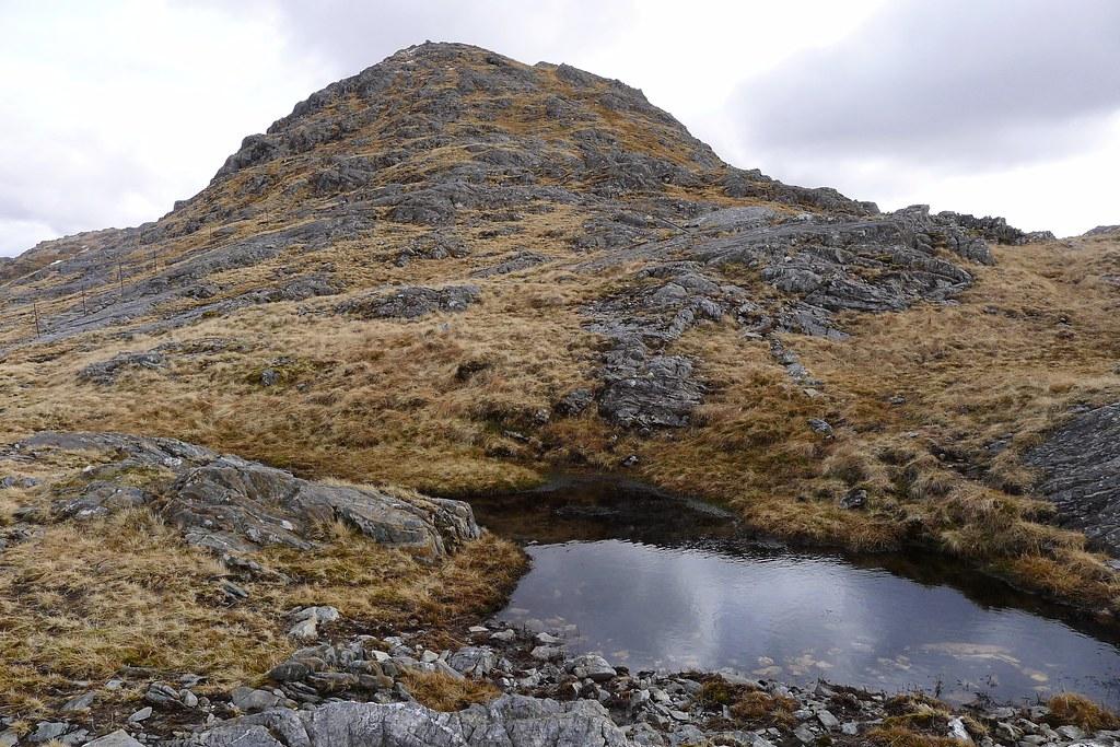 Summit of Stob a' Bhealach an Sgriodain