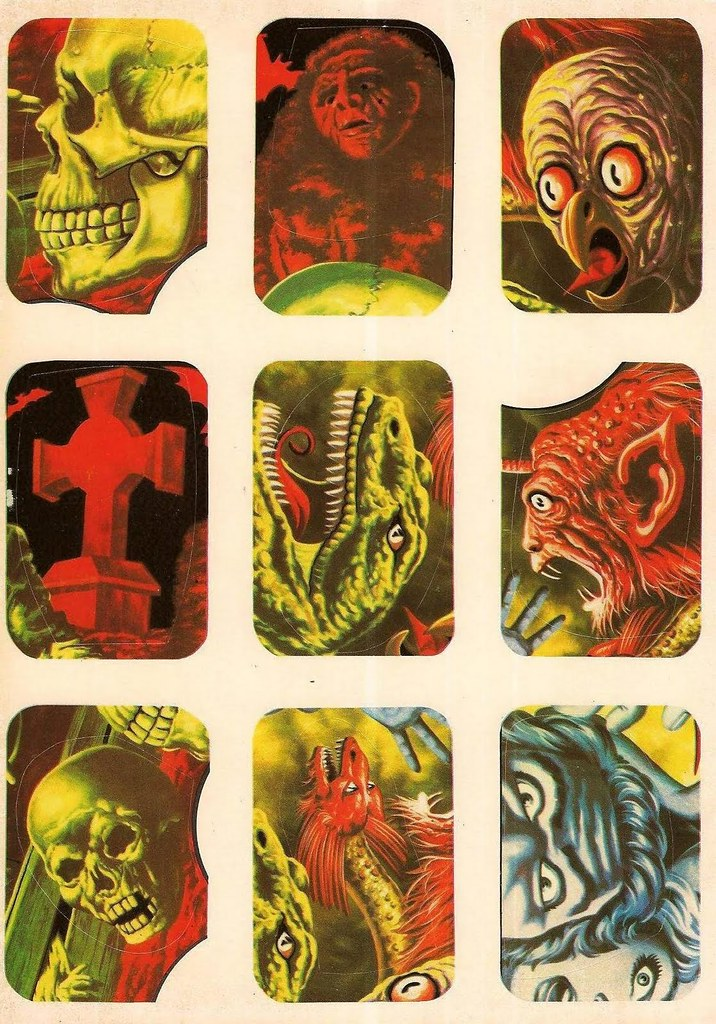 Horror Movie Stickers - 12