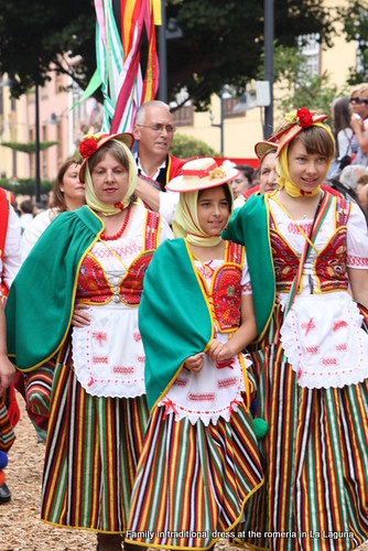 Traditional Canarian costume